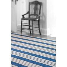 Woven Staffordshire Blue Stripe Area Rug