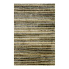 Tufted Brindle Mountain Stripe Area Rug