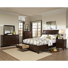 Justine Sleigh Customizable Bedroom Set