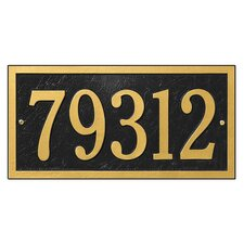 Bismark Address Plaque