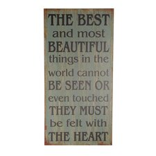 """""""The Best and most Beautiful…."""" Textual Art"""