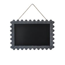 Rectangle Hanging Rope Magnetic Chalkboard