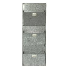 Galvanized Wall Mounted Mailbox