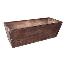 Wooden Rectangular Planter Box