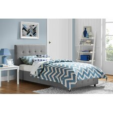 Rose Upholstered Platform Bed