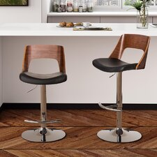 "Baden 33.5"" Swivel Bar Stool with Cushion"