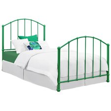 BrickMill Ivy Twin Wrought Iron Bed