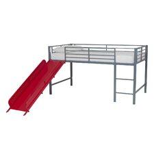 Fantasy Junior Twin Loft Bed with Slide