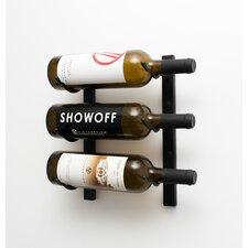 WS Series 3 Bottle Wall Mount Wine Rack
