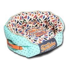 Chirpin-Avery Rounded Premium Designer Dog Bed