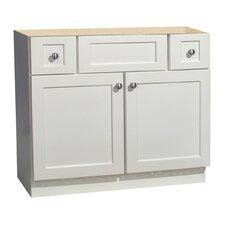 "Cape Cod Series 36"" Maple Bathroom Vanity Base"