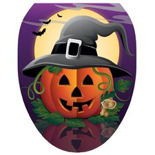 Hallows Eve Toilet Seat Decal