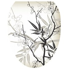 Blossoms Toilet Seat Decal
