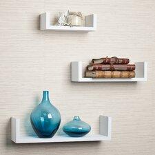 Fini 3 Piece Floating Wall Shelf Set
