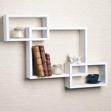 Carla Intersecting Wall Shelf