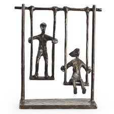 Children on Swings Sculpture