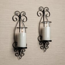 San Remo 1 Light Wall Sconce (Set of 2)