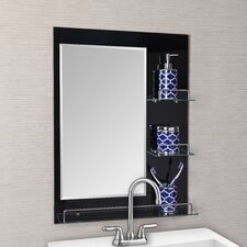 Oslo Vanity Bathroom Mirror with Shelves