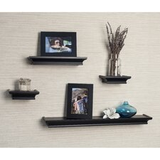 Cornice 4 Piece Floating Shelf Set
