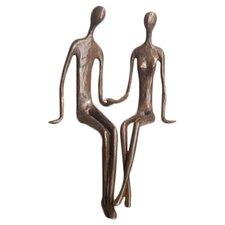 Sitting Couple Figurine