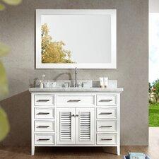"Kensington 49"" Single Bathroom Vanity Set with Mirror"