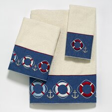 Life Preservers Ii 4 Piece Towel Set