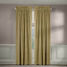 Velvet Soft Luxury Tailored Curtain Panel