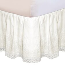 Embroidered Bed Skirt