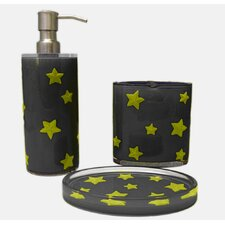 Glow in the Dark Stellar 3 Piece Bath Set