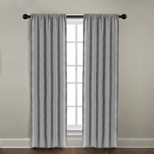 Gotham Ramie Linen Rod Pocket Window Single Curtain Panel