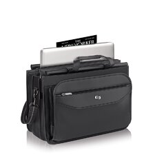 Classic Triple Compartment Briefcase