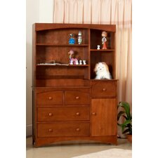 Seattle 3 Drawer Combo and Hutch Set