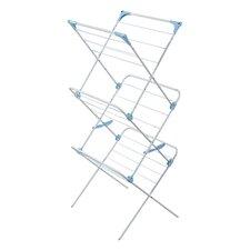Three Tier Trio Concertina Indoor Drying Rack in White