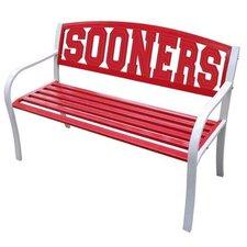 NCAA Collegiate Metal Garden Bench