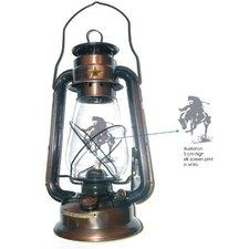 Rustic Lonestar Metal Lantern