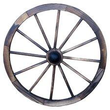 Charred Wagon Twenty-Four Inch Wheel