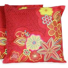 The Seema Applique Pillow Cover (Set of 2)