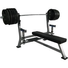 Flat Olympic Bench with Spotter