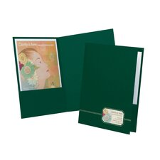 Oxford Monogram Executive Twin Pocket Folders