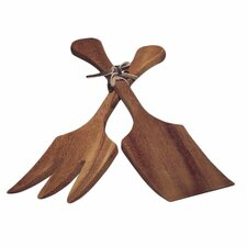 Two Piece Extra Large Salad Utensil Set
