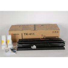 TK411 Toner Cartridge, 15,000 Page Yield, Black