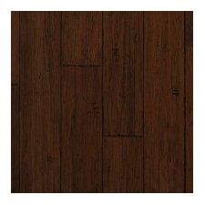 "Strand Woven 5-1/5"" Solid Bamboo Hardwood Flooring in Demode Java"