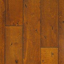 """BF-777 6-19/50"""" Engineered Maple Hardwood Flooring in Brown"""