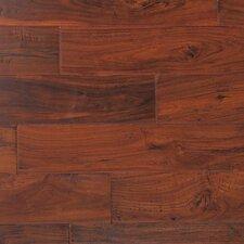 "Kensington 5"" Engineered Acacia Hardwood Flooring in Cabernet Walnut"