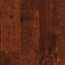 "Melissa II 4-9/10"" Engineered Maple Hardwood Flooring in Brown"
