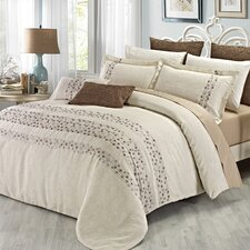 Sand Dollar 3 Piece Duvet Cover Set