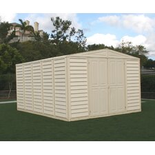 WoodBridge 10.5 Ft. W x 13 Ft. D Vinyl Storage Shed
