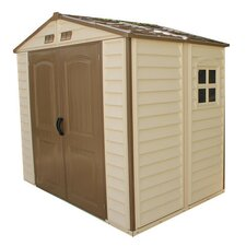 8 Ft. W x 6 Ft. D Fire Retardant Vinyl Storage Shed