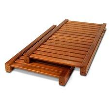 """12"""" Deep Woodcrest Adjustable Shelves (Set of 2)"""