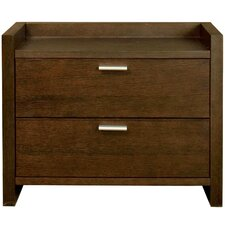 Xena 2 Drawer Nightstand